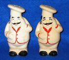 Vintage Chefs Salt and Pepper Shakers