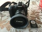 Canon EOS 30D 82MP Digital SLR Camera with 18 55mm Cannon lens extras