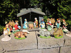 20 VINTAGE ITALY NATIVITY SET SCENE HAND PAINTED FIGURINES 65 YEARS OLD