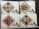 Shatranj Ke Khilari 1977 Movie Set of 4 Lobby Cards India SATYAJIT RAY 10101