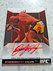 2011 TOPPS UFC MOMENT OF TRUTH 06 25 ANDERSON SILVA HEAVY HITTERS AUTO