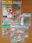Lot of Scrapbooking Dimensional Stickers Beach Vacation Cruise Jolees Hawaii