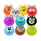 Mozlly Wild Zoo Animal Inflatable Hopper Ball 20 inch Bouncer Colors May Vary