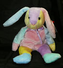 TY Beanie Babies Dippy Bunny Rabbit Bean Bag Swing Tush HOLOGRAM Tag 2002 10 Yrs