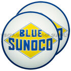 Pair of Blue Sunoco 13.5