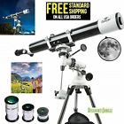 Gskyer EQ 80900 Telescope German Technology Telescope Starwatcher Refractors NEW