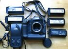 Canon EOS-1 Ds Camera Body with Charger and 6 x NP-E3 Batteries