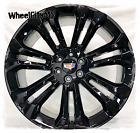 22 inch gloss black 2019 Cadillac Escalade OE replica wheels 6x55 NEW 4 rims