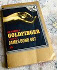 Collectable James Bond Gold Finger Paperback First Edition Second Print 1961