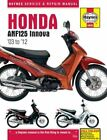 Honda Anf125 Innova Scooter (03 - 12) by Matthew Coombs: New