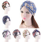 Women's Floral Inner Cover Turban Hat India Ladies Hijab Chemo Head Wrap Cap Hat