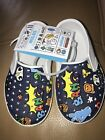 New NATIVE Toddler Little Kid Waterproof Slip On Loafer Shoes 8 Miles Jefferson