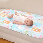 6090 Baby Diapers Changing Mat Cartoon Pattern Cotton Waterproof Sheet Baby