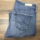 AG Goldschmied Womens Size 27 x 27 Slim Ankle Jeans Blue The Stevie Straight