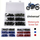 Sportbikes Motorcycle Screw Set Windscreen Fairing Bolts Kit Fastener Clip Screw