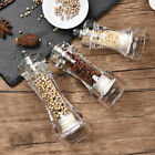 Salt Pepper Mill Grinder Shaker Spice Herbs Manual Grinding Tool Clear Acrylic