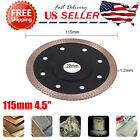 Thin 115mm 45 Turbo Diamond Tile Dry Cutting Discs Blade Fit Marble Porcelain