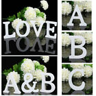 Freestanding Large 26 Wooden Wood Alphabet Letters Wall Hanging Nursery Decor so
