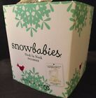 Snowbabies And The Rain Came 2012 NECK AND NECK Giraffes Dept 56 Item #4025683