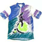 Louis Garneau Cycling Jersey Vintage Colorful Mens Size XL