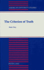 The Criterion of Truth by Ralph Doty New