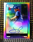 2012 Bowman Baseball Chrome Prospect Autographs Gallery and Guide 42
