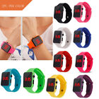 Simple Digital LED Electronic Watch Silicone Strap Men And Women Watch Cheap