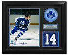Dave Keon Toronto Maple Leafs Signed Retired Jersey Number 23x19 Frame