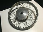 72 Honda CL350 Front Rim Wheel Hub Brake Tire 1.60