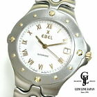 Ebel Sports Wave E6120631 White Dial Automatic Mens Wrist watch Excellent+++