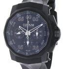 CORUM ADMIRAL´S CUP BLACK HULL 48 LE 368 999 REF 75393495 INKL BOX  PAP