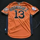 ALEX RODRIGUEZ 2007 MLB All-Star MAJESTIC Authentic Jersey Orange Yankees Men L