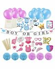 Gender Reveal Party Supplies  Decorating Kit Boy Or Girl