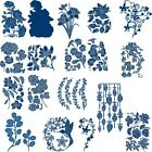 Wrap Branches Flower cutting dies Scrapbooking Photo Album Embossing Gift Card