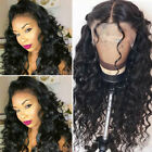 100% 8A 1B Peruvian Human Hair Wigs Loose Body Wave Lace Front Wig Baby Hair ug1
