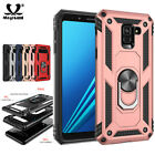Heavy Duty Magnet Armor Case For Samsung Galaxy J4 A8 Plus 2018 S10 Phone Cover