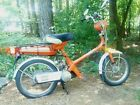 Honda Express 1979 Moped Vintage Orange Motorized Scooter Collectors Project