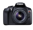 Canon EOS Rebel T6 DSLR Camera with EF S 18 55mm f 35 56 IS II Lens Used