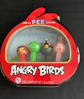 Angry Birds Pez Gift Set Metal Tin W/4 Dispensers VGC