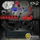T0e4 .63 Ar 400hp Stage3 12pc Turbo Charger Upgrade Kit Wpiping Couplers Bkrd