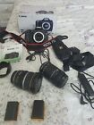 Canon EOS 7D V2 Import with 55-200mm & 10-22mm lens. Extras + 350 shutter count