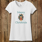 Personalized Happy Holidays Girls Christmas Concert Tee