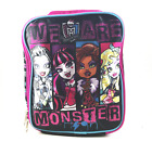 Disney Pixar  We Are Monster High Insulated Lunch Bag  NEW  With Tags