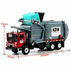 124 Scale Diecast Alloy KDW Transporter Garbage Truck Vehicle Car Model Toys