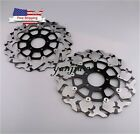 US Front Brake Disc Rotor For Suzuki TL1000R TL1000S GSX1400 GSXR 1300 99-07