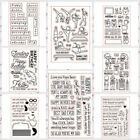 Summer Birthday Transparent Clear Silicone Stamp Seal for DIY scrapbooking photo