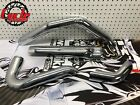 17 2019 OEM Harley Touring Exhaust Header Pipe Heat Shields Chrome MSRP 29132