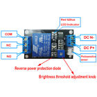 Photosensitive Resistance Sensor Relay Module 5v12v24v Light Detection Control