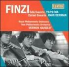 Finzi: Cello Concerto; Clarinet Concerto by John Denman: New