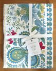 NWT Williams Sonoma Berry Meadow Tablecloth White Provence 70 x 90 Free Ship